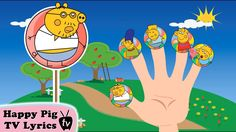 """Lollipop Peppa Pig The Simpsons Finger Family \ Nursery Rhymes Lyrics and More """". Finger Family, Family Guy, Rhymes Lyrics, Happy Pig, Nursery Rhymes, Photo And Video, Youtube, Fictional Characters, Future"""