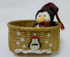 Penguin Winterland kit available at ncbasketworks.com (retiring Feb 28, 2013)