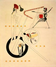 EL LISSITZKY. Schaumaschinerie, 1923.