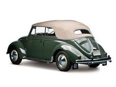 Volkswagen Beetle Convertible (1953 – 1957).