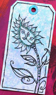 Art Tag - Floral Fantasy 4 | Flickr: Intercambio de fotos