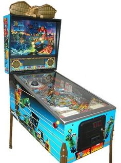 Arcade Game Machines, Arcade Games, Arcade Room, Pinball Wizard, Penny Arcade, Judge Dredd, Gamer Room, Old Coins, Bar Accessories