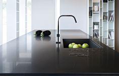 Piano #cucina in #Okite 1934 Marrone Emperador #kitchen #arredamento #design
