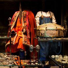 """Tenues et bijoux vikings, exposition """"Viking"""" au Musée national du Danemark, photo par le Musée national du Danemark"""