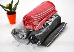 3 pcs Towels Gift Set for Couple Undyed Body Towel by PESHTEMALIA, $59.95