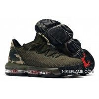 Nike LeBron 16 Low Cargo Khaki/Black-Neutral Olive Buy Now