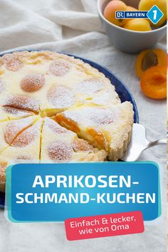 Apricot cake with sour cream- Aprikosenkuchen mit Schmand A classic shortcrust pastry, served with a juicy aromatic … - Cake Recipes, Snack Recipes, Dessert Recipes, Snacks, Apricot Cake, Tart Molds, Sour Cream Cake, Free Fruit, Shortcrust Pastry