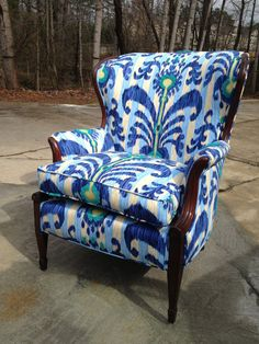 Accent Chair - Nila  Have a chair like this...mine was hand-carved...Love it! CHH