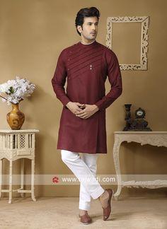 Wedding Kurta For Men, Wedding Dresses Men Indian, Wedding Dress Men, Wedding Outfits, India Fashion Men, Indian Men Fashion, Mens Fashion Suits, Men's Fashion, Gents Kurta Design