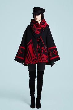 Black Raven Trench Cloak
