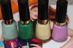 Revlon Nail Polish ... love the green one <3