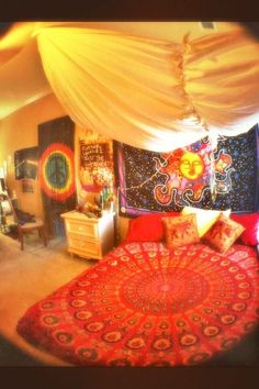 hippie bedroom 698902435901607633 - I want this room Source by loumaxalapareille
