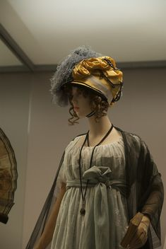 Napoleon - Empire of Fashion.  I wish I could find pictures of that hat from all angles.