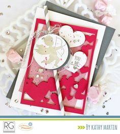 You + Me by Kathy Martin for Journey Blooms using Fun Stampers Journey supplies.