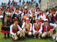 North Albanian folk costumes
