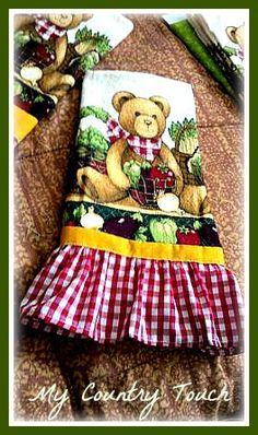 Teddy Bear Kitchen Towel