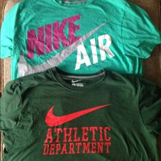 Men's Nike T shirts Size large. Only worn a few times. $8 for both! Tops Tees - Short Sleeve