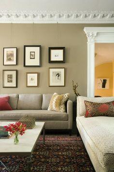 Perfect wanddeko ideen bilder familienfotos wandgestaltung ausstellung wohnzimmer