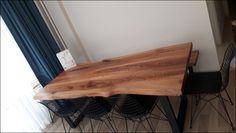 Karaağaç doğal ahşap yemek masası uygulamamız.
