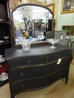 Home Made Chalk Paint, Produced Right Here At Consignments On South, Covers  This Gorgeous. Dark WaxCharlotte NcChalk PaintPaint FurnitureChalkboard  Paint