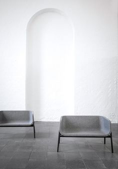Close Bench designed by Norm Architects in collaboration with Frederik Werner