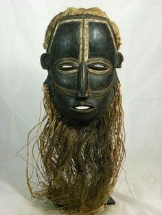 tribal face masks | Fine African Tribal Mask BETE Face Mask Collectible / ... | African M ...