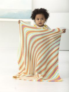 Kerry Baby Afghan (Knit)
