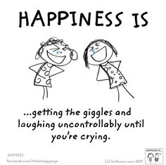 Crazy women...we cry n laugh together.