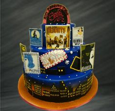 Not big on Broadway but this cake is done well.