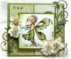 Whimsy Stamps, Silver Fairy Zie Copic tutuorial  voor Copic  nummers