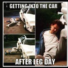 Leg day up and coming! Så jävla gött att ha den tillryggalagd #legday #lchf #styrketräning #gym