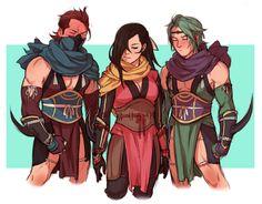 Fire Emblem Fates - Saizo, Kagero and Kaze