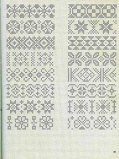 Схемы жаккардовых узоров Спицами – 127 фотографий