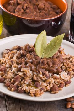 Pinto Beans and Rice in a Crock Pot (Or on Stove Top) Recipe--sub brown rice for the white and make heart friendly!