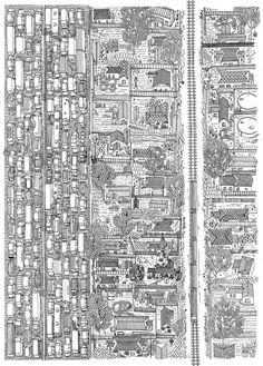 METRO RAIL  posted in: Illustration, Maps  client: McCann Erikson  art direction: Patrick Baron  date: 2012
