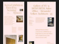 Serra Rizzoli Sensing Spaces by Hrvoje Grubisic on Dribbble Website Design Layout, Web Layout, Layout Design, Web Design Projects, Web Design Tips, Design Design, Website Design Inspiration, Packaging Design Inspiration, Layout Inspiration