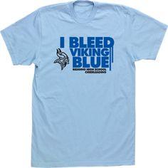 I Bleed Mascot School Color Spirit Custom Cheer Cheerleading Cheerleader T-shirt Tee High School Design
