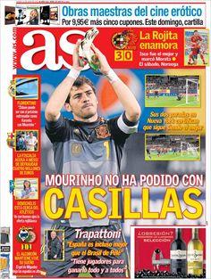 Los Titulares y Portadas de Noticias Destacadas Españolas del 13 de Junio de 2013 del Diario Deportivo As ¿Que le parecio esta Portada de este Diario Español?