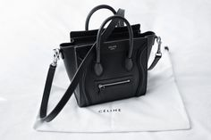 Baby Céline bag. We are in love.