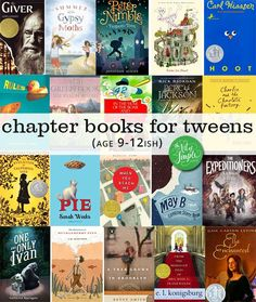 A summer reading list for tweens