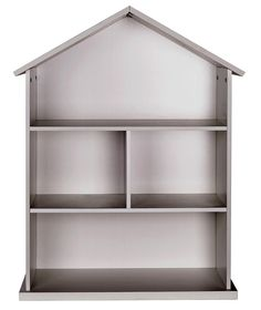 Buy Mia Dolls House Bookcase - White at Argos.co.uk - Your Online Shop for Bookcases and shelving units, Children's toy boxes and storage.