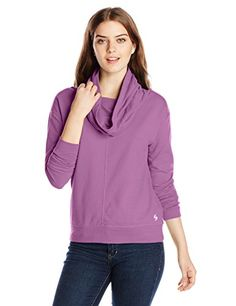 Looking for Soffe Women's French Terry Cowl Neck Sweatshirt ? Check out our picks for the Soffe Women's French Terry Cowl Neck Sweatshirt from the popular stores - all in one. Latest Fashion For Women, Fashion Women, Woman Silhouette, Sweatshirts Online, Blouse Vintage, French Terry, Cowl Neck, Mauve, Fashion Hoodies