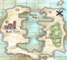 Map of Jaya (One Piece)