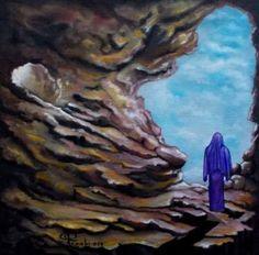 """Saatchi Art Artist Giuseppe Alberto Regoli; Painting, """"Cave Lyric"""" #art"""