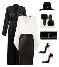 """""""Untitled #226"""" by sanchez-drummond ❤ liked on Polyvore featuring Gucci, rag & bone, Balmain, Narciso Rodriguez, Yves Saint Laurent and Christian Louboutin"""