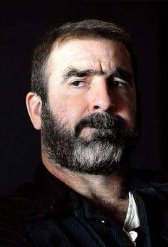 Hoax or not, Eric Cantona has got my vote Eric Cantona, Scruffy Men, Hairy Men, Great Beards, Beard Styles For Men, Daddy Bear, Bear Men, Older Men, Moustache