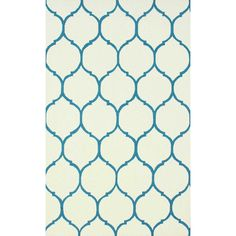Honeycomb 100% Wool Area Rug in Blue design by NuLoom ($120) ❤ liked on Polyvore featuring home, rugs, woven wool rug, wool rugs, handmade wool rugs, hooked rugs and nuloom rugs