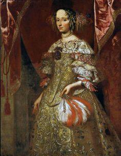 portrait 1660 | Portrait of a Lady, 1660-75 Italy