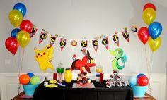 pokemon party decor