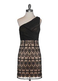 Antique Lace Cocktail Dress